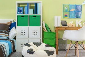 decluttering kids rooms