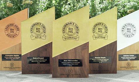 Berkshire Hathaway HomeServices Awards at Verani Realty