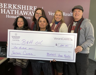 Verani's Windham Office Donates $500 Worth of Heating Oil to Veterans